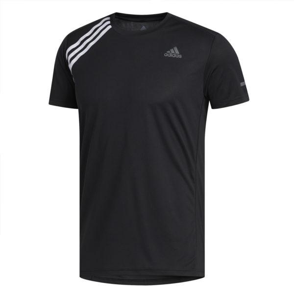 adidas Own The Run Short Sleeve Men's black front