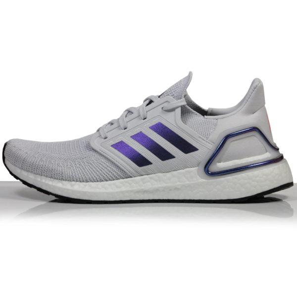 Adidas UltraBoost 20 Men's Running Shoe dash grey side