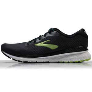 Brooks Adrenaline GTS 20 Men's black lime side