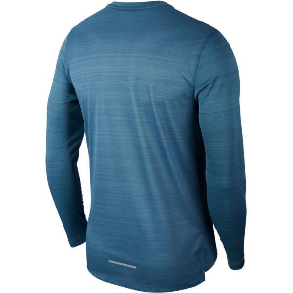 Nike Miler Long Sleeve Men's thunderstorm back