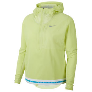 Nike Lightweight Women's Running Jacket - Limelight/Reflective Silver Front
