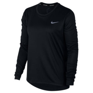 Nike Miler Long Sleeve Women's Running Tee Front