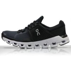 On Cloudswift Women's Running Shoe - Black/Rock Side