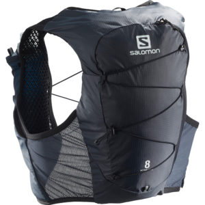 Salomon Active Skin 8 Set : Ebony/Black Back