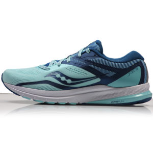 Saucony Jazz 22 Women's Running Shoe - Blue/Aqua Side
