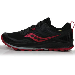 Saucony Peregrine 10 Women's Trail Shoe - Black/Barberry Side