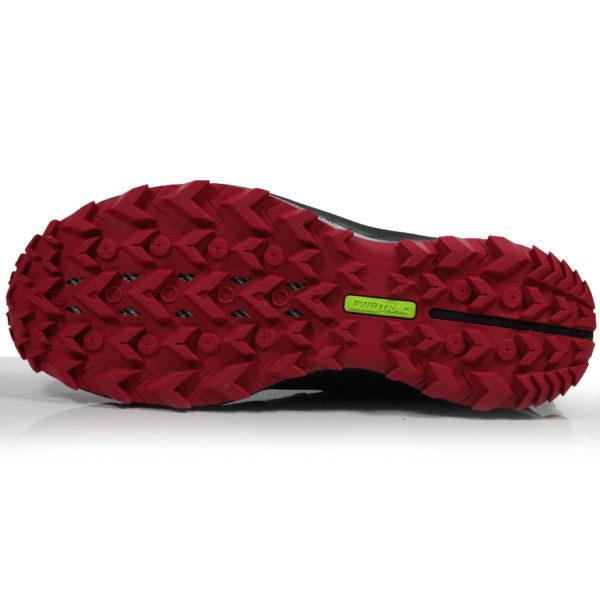 Saucony Peregrine 10 Women's Trail Shoe - Black/Barberry Sole