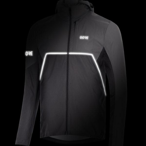 Gore Wear R7 Partial Gore-Tex Infinium Men's Running Jacket flash