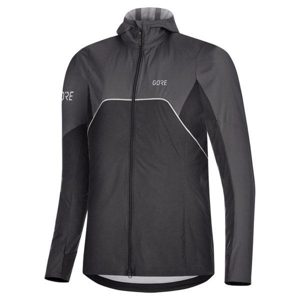 Gore Wear R7 Partial Gore-Tex Infinium Men's Running Jacket black front