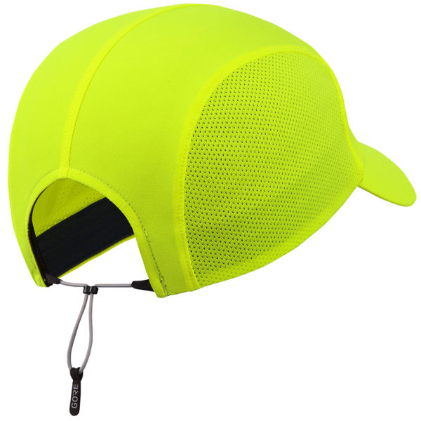 Gore Wear M Mesh Cap neon yellow back