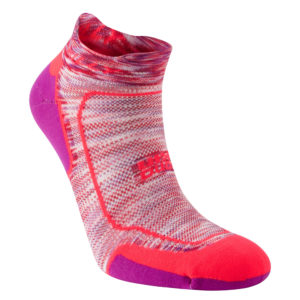 Hilly Lite Comfort Socklet Women's Running Sock front