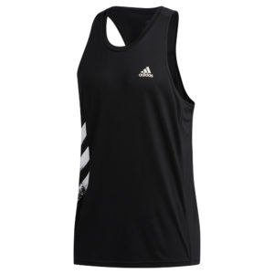adidas Own the Run 3-Stripes PB black
