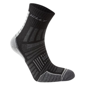 Hilly Twin Skin Anklet Running Sock Black