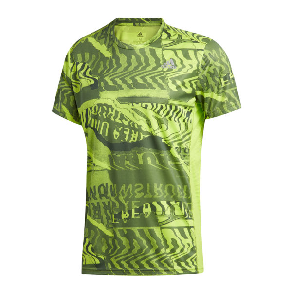 adidas Own The Run Short Sleeve Men's Front