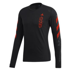 Adidas Fast Graphic Long Sleeve front
