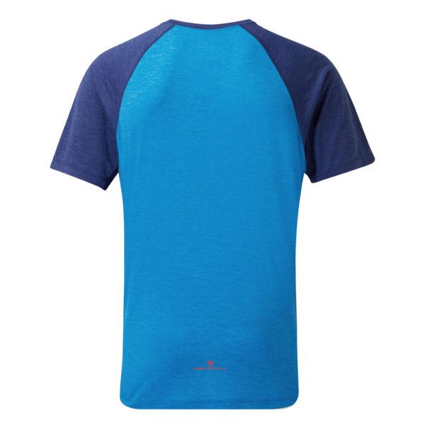 Ronhill momentum short sleeve men's running tee Back