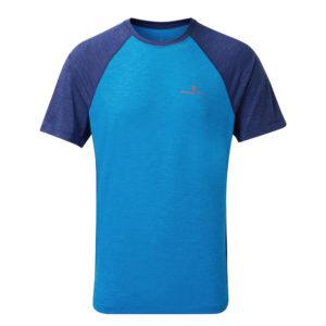 Ronhill momentum short sleeve men's running tee Front