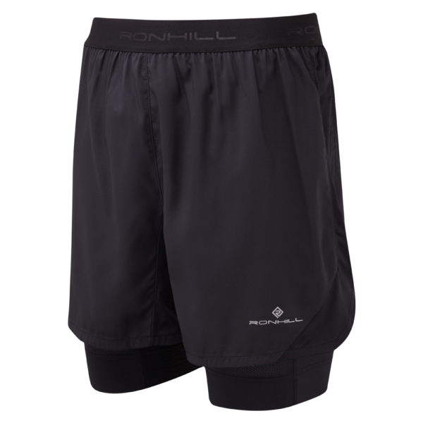Ronhill Stride Revive 5inch Twin Men's Running Short Front