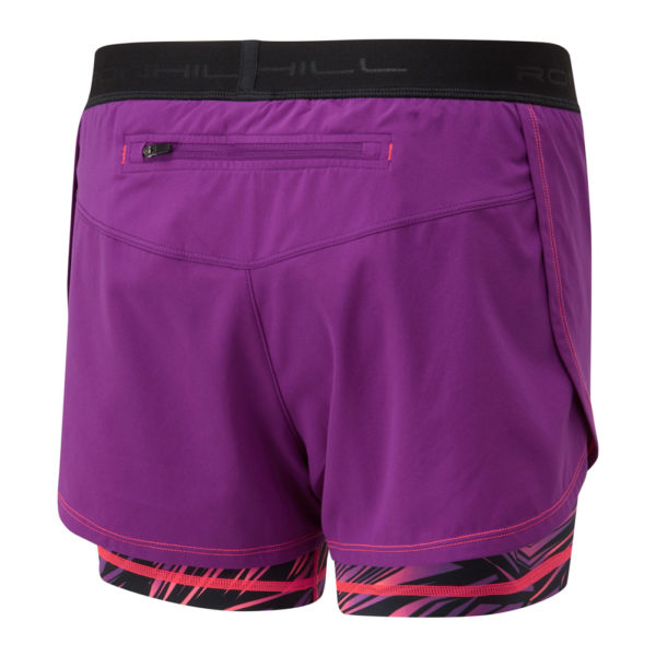 Ronhill Momentum Twin Women's Running Short grape back