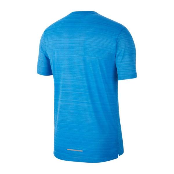 Nike Men's Miler Short Sleeve Running Tee Back
