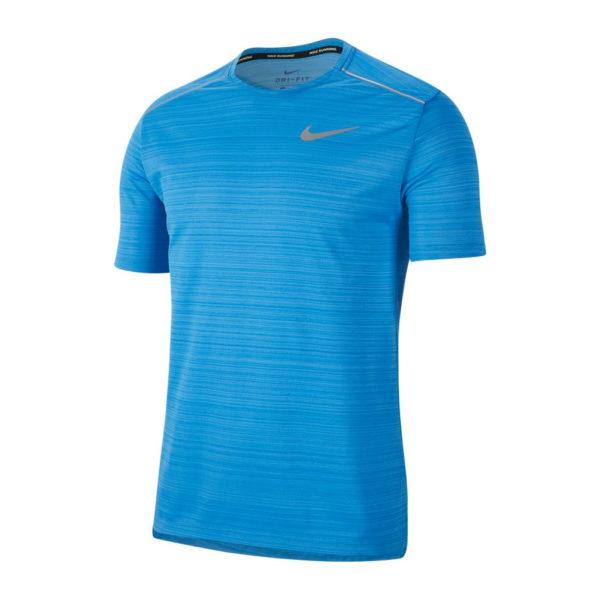 Nike Men's Miler Short Sleeve Running Tee Front