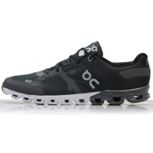 On Cloudflow Men's Running Shoe black asphalt side