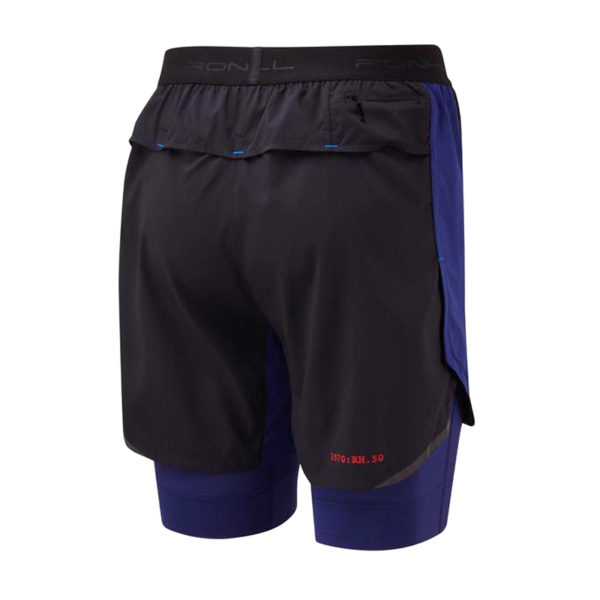 Ronhill Stride Revive 5inch Twin Men's Running Short Back