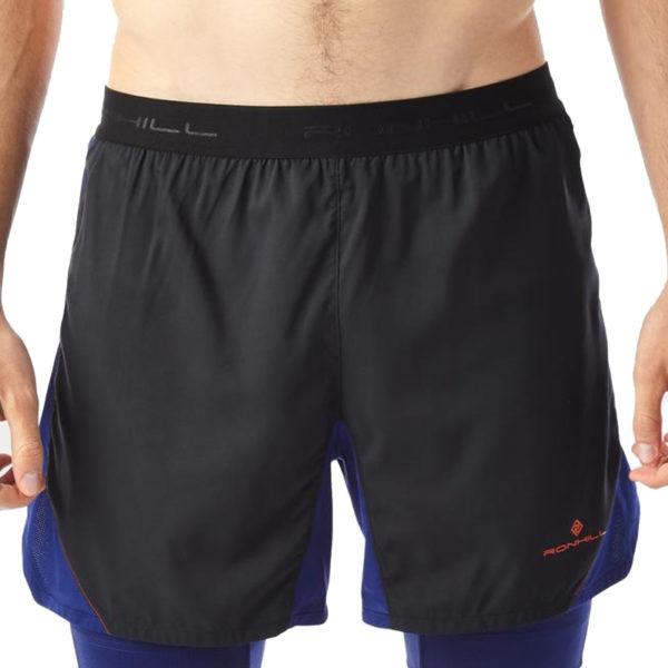 Ronhill Stride Revive 5inch Twin Men's Running Short Model
