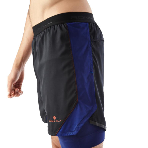 Ronhill Stride Revive 5inch Twin Men's Running Short Side