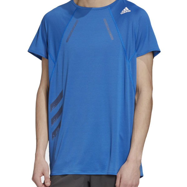 adidas Men's HEAT.RDY Running Tee Model Front