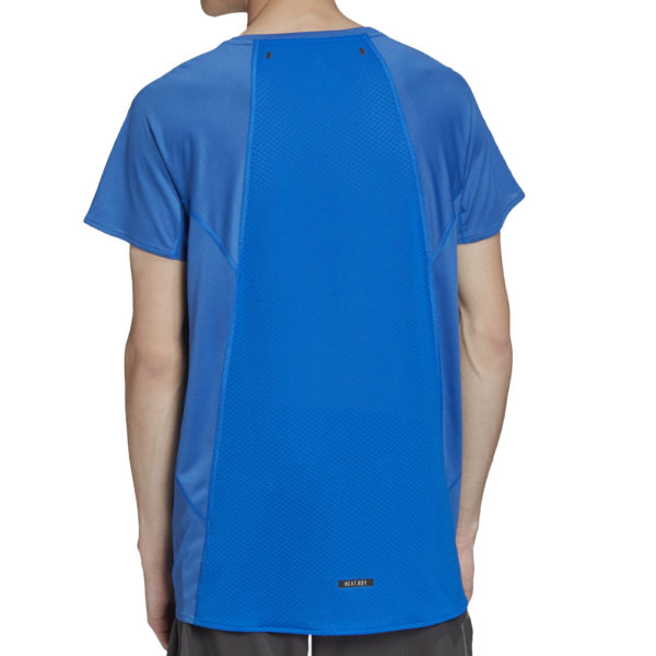 adidas Men's HEAT.RDY Running Tee Model Back