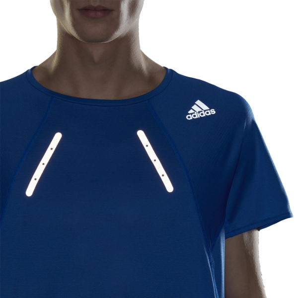 adidas Men's HEAT.RDY Running Tee Model Flash
