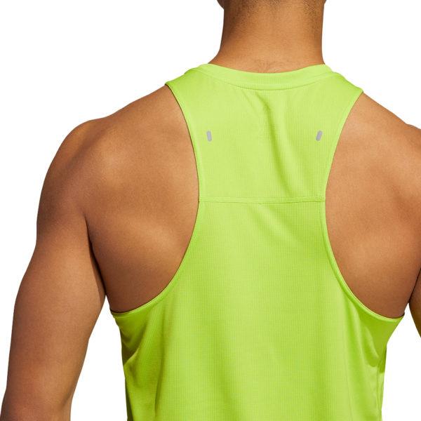 adidas Own the Run 3-Stripes PB Men's Running Singlet Back Model