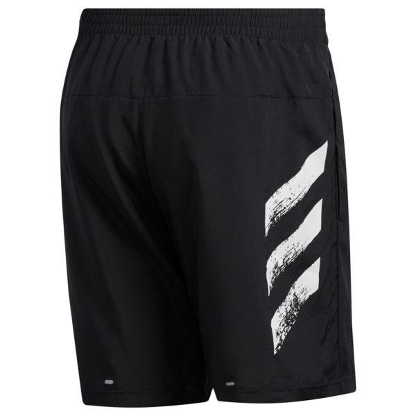 Adidas Run It 3-Stripes PB Men's Running Short Back