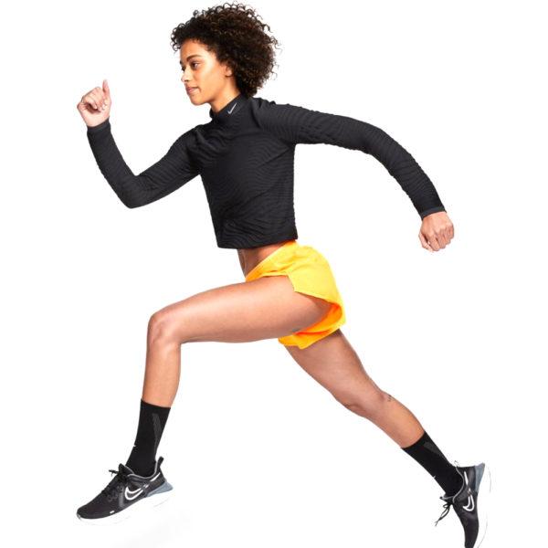 Nike Tempo Luxe 3inch Women's laser orange model