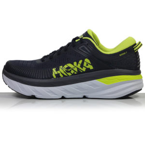 Hoka One One Bondi 7 Men's Running Shoe Side