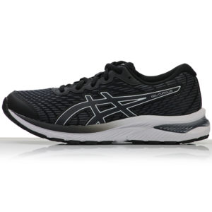Asics Gel Cumulus 22 Junior Running Shoe black grey side