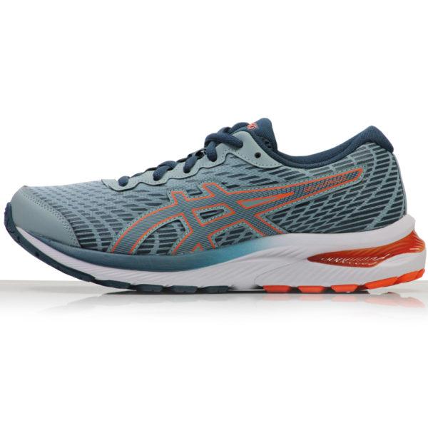 Asics Gel Cumulus 22 Junior Running Shoe steel side