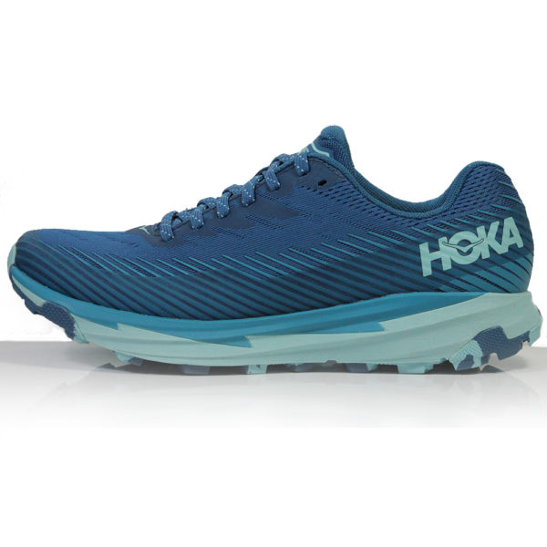 Hoka One One Torrent 2 Women's blue sapphire side