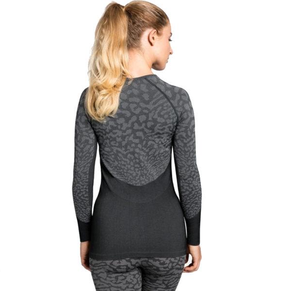 Odlo Performance Blackcomb Crew Warm Women's Long Sleeve Model Back