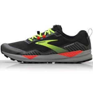 Brooks Cascadia 15 Men's Trail Shoe black raven side