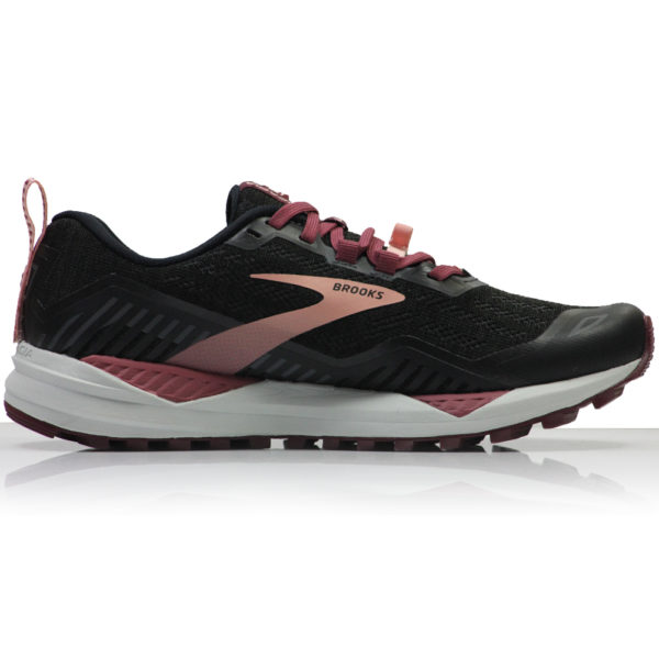 Brooks Cascadia 15 Women's Trail Shoe black ebony back