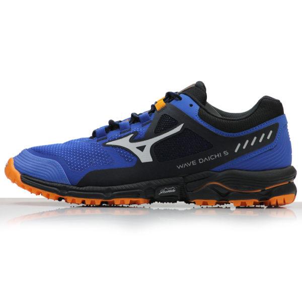 Mizuno Wave Daichi 5 Men's Trail blue side