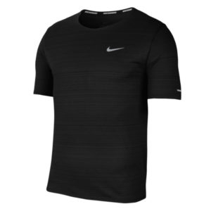 Nike Men's DF Miler Short Sleeve Running Tee Front