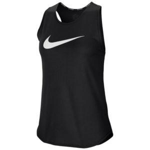 Nike Swoosh Women's Running Tank black front