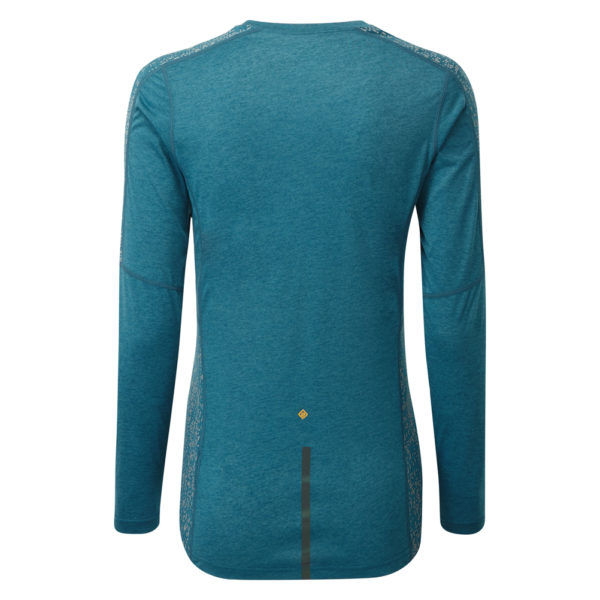 Ronhill Life Nightrunner Long Sleeve Women's legion blue back