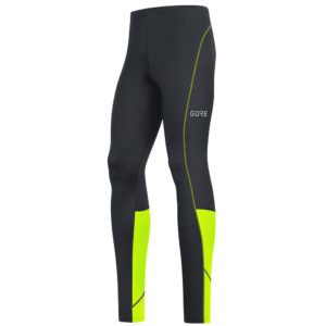 Gore Wear R3 Men's Running Tight black yellow front
