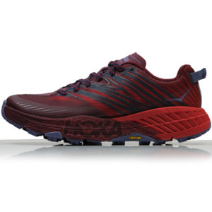 Hoka One One Speedgoat 4 Women's cordovan side