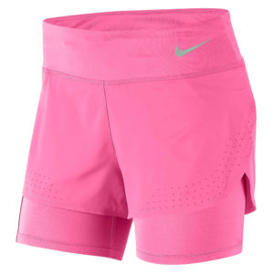 Nike Eclipse 2in1 Women's Running Short pink glow front