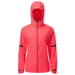 Ronhill Life Nightrunner Women's Running Jacket hot pink front
